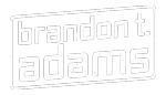 Brandon T Adams Logo